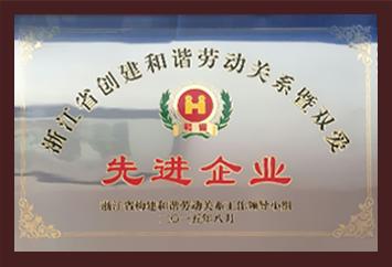 浙江省劳动关系和谐企业承
